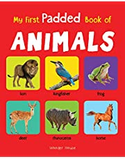 My First Padded Book of Animals Early Learning Padded Board