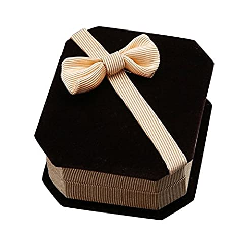 Honeysuck Yellow Bowknot Jewelry Storage Box