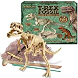 Jurassic Era T Rex Dinosaur 2 In 1 Digging Fossil Excavation And Modelling Dough Set For Children
