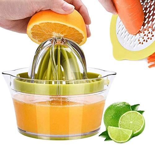 StillCool Spremiagrumi Spremiagrumi Arancia Spremiagrumi Manuale Spremiagrumi a Mano + Misurino Utensili da Cucina Grattugia ad Aglio (1)