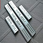 Door Sill Protector For Chevrolet Malibu 2012-2020 Stainless Steel Car Kick Plates Pedal Non-Slip Anti-Scratch