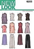 New Look - Cartamodello 6203 abiti donna occasioni per speciali, taglie 38/40/ 42/44/ 46/48