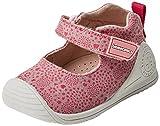 Biomecanics 182123, Zapatillas de Estar por casa para Bebés, Rosa/Puntos (Lona/Estampado) 19 EU