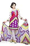 Multi Crepe Dress Material - VD14278