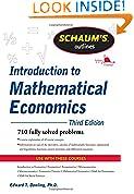 #5: Schaum's Outline of Introduction to Mathematical Economics, 3rd Edition (Schaum's Outline Series)