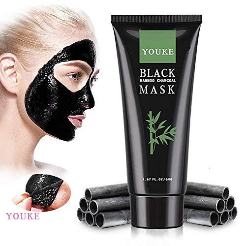 Mitesser Entferner Maske, Aktivkohlefilter Akne Entferner Peel Off Face Deep Clean Schwarze Maske
