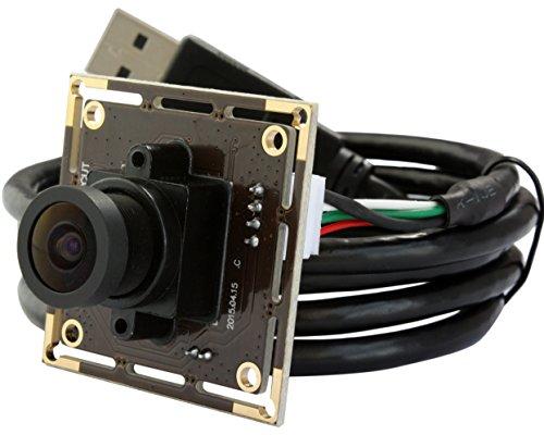 ELP 2.1mm Lenti Modulo Grandangolare Webcam Bassa Illuminazione Macchina Fotografica USB per (2.1 Sistema Di Monitoraggio)