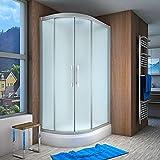AcquaVapore QUICK18-7010L Dusche Duschtempel Komplette Duschkabine 120x80, EasyClean Versiegelung der Scheiben:2K Scheiben Versiegelung +79.-EUR