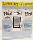 Neutrogena T/GEL Lot de 3 bouteilles de shampoing thérapeutique 250ml