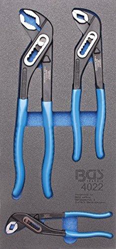 BGS 4022 | Bandeja para carro 1/3: Tenazas pico de loro | 3 piezas