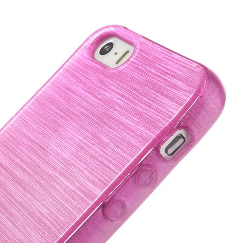 XAiOX Apple iPhone 6 / 6s brushed TPU Schutzhülle Bumper Case Back Cover gebürstet Hülle Silikon - rose pink