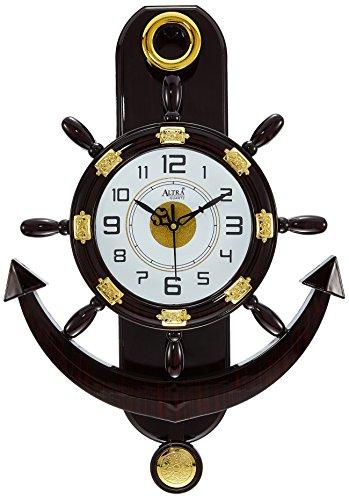 Altra Plastic Pendulum Wall Clock (45 cm x 30 cm x 5...