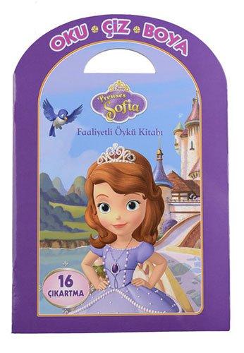 Disney Prenses Sofia Oku Ciz Boya Faaliyetli Oyku Kitabi
