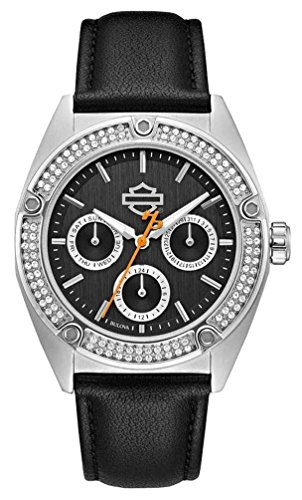 n's Crystal Embellished Stainless Steel Case Watch 76N102 ()