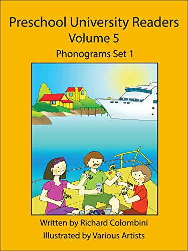 Preschool University Readers Volume Set 5: Phonograms Set 1 (English Edition)