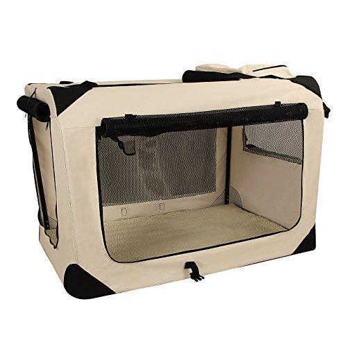 Songmics S - XXXL Hundebox faltbar Oxford Gewebe Katzenbox Hundetransportbox bei