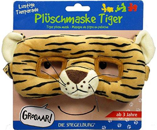 Plüschmaske Tiger Lustige Tierparade