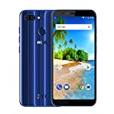 iLA Silk Dual-SIM Smartphone (5.7 Zoll(18:9) HD+ IPS Touch-Display,64GB interner Speicher, (Blau)