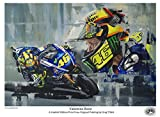 Stampa artistica, motivo: Valentino Rossi 2016