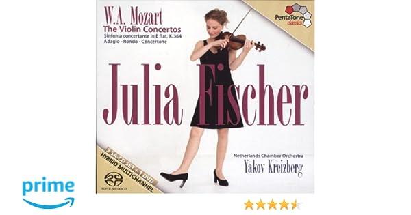Julia Fischer - The Mozart Violin Concertos