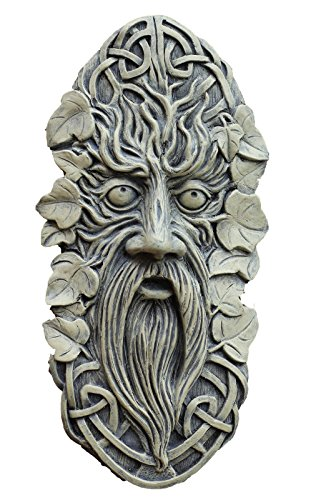 Celtic Face Garden Ornament Wall...