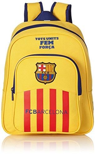 Safta 076508 Barça-2 Mochila Infantil, Color Amarillo