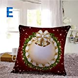 serliy Frohe Weihnachten Wunderbares Element Wurf Flauschige kissenbezüge kissenhüllen Spannbettlaken sofakissenbezug günstige schöne Moderne Plüsch Hohe Qualität Polsterung Baumwolle bettwäsche