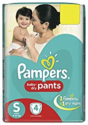 Pampers Pants Diapers Small Size - 4 Count