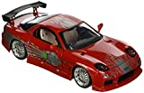Jada Toys 98338r Mazda rx-7–Fast and Furious–1995–Maßstab 1/24–Rot