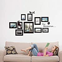 The Memories Photo Frames Little Bird Wall Stickers For Bedroom Wall Posters Mural