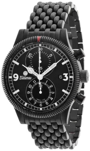 Tutima Grand Classic Black Chronograph 781-32