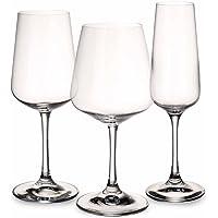 Villeroy & Boch Ovid Ensemble de verres, 12 pièces, Cristal, Transparent