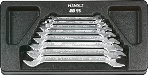 Hazet 450N/8 Double Open End Wrench Set by Hazet