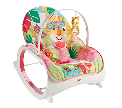 Fisher-Price Infant-to-Toddler Rocker, Pink Best Price and Cheapest