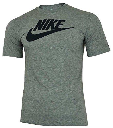 NIKE Herren T-shirt TEE-FUTURA ICON,Grau , L, 696707-066 -