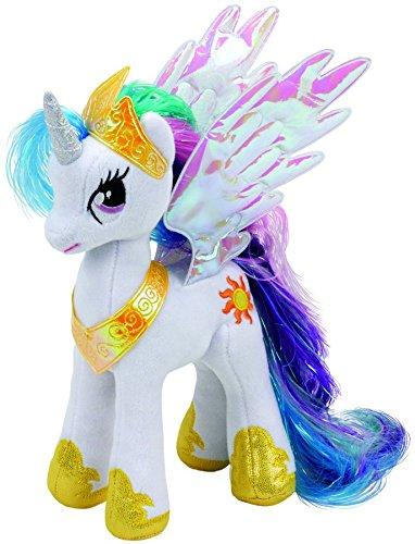My Little Pony - Prinzessin Celestia, Plüsch, 15 cm (Little Pony Spielzeug)