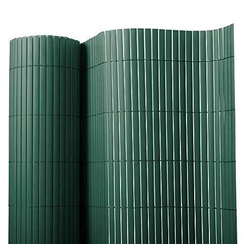Brise vue casa pura® en vert | brise-vent pour l'usage extérieur | tailles diverses - matière robuste | 180x300cm