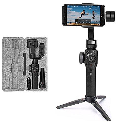 Zhiyun Smooth 4 - Stabilizzatore palmare a 3 assi con giunto cardanico per iPhone X 8, S9+, S9, P20, P20 Pro
