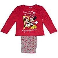 RAGAZZA PIGIAMA DISNEY MINNIE MOUSE 2-8