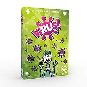 Tranjis Games – Virus! – Juego de cartas (TRG-01vir)