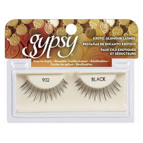 (3 Pack) GYPSY LASHES False Eyelashes - 902 Black