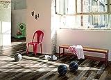 PARADOR Elastische Bodenbeläge Vinyl Classic 2050 Shufflewood wild 1601388 Rustikalstruktur individuelle Dielenoptik 4-seitige Micro-V-Fuge aus Vollmaterial Vinylboden zum Klicken Paket a 2,12m² Klickvinyl