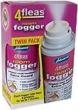 Johnsons 4Fleas Room Flea Fogger Twin Pack with IGR