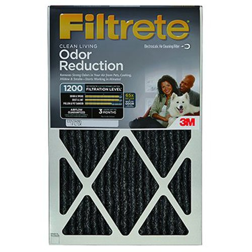 3M COMPANY HOME00-4 16x20x1Odor Reducing Filter by 3M