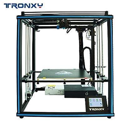 Neue verbesserte Tronxy 3D Drucker X5SA Auto Leveling Qualität Riemenscheibe Filament Run Out Detection Doppelventilatoren Design mit 3,5 Zoll Touchscreen
