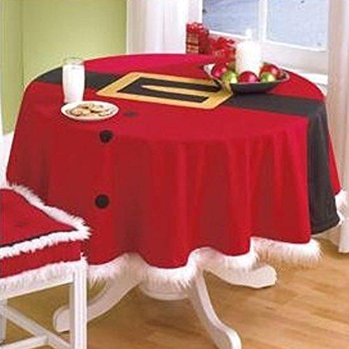 """Molie 58,27"""" redondo mantel de Navidad"""