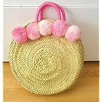 82a5b4d80 Amazon.es: bolsos de mimbre: Handmade