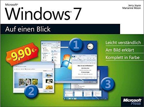 Microsoft Windows 7 auf einen Blick by Jerry Joyce (2009-10-27)