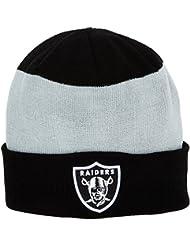 New Era New Era Team Stripe Cuff Knit Oakland Raiders-Gorro de punto Hombre