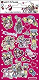 Bang on the Door - Pony Girls - Small Foil Sticker Pack - Sticker Style